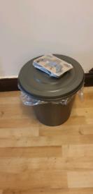 IKEA new KNODD bin with lid