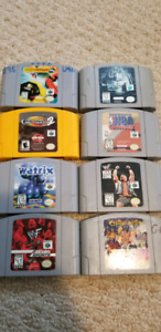 8 N64 Games for Trade or Sale