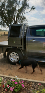 Dog box ute
