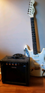 Electric Guitar Profile and Amp  Crate