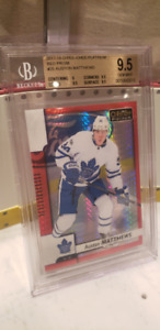 Hockey cards for sale Toronto Maple Leafs Graded + Jersey Card