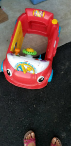 Fisher price car toy baby toodler!