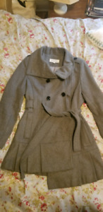Calvin Klein Wool Coat Spring/Fall Jacket, Women's