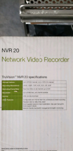 TruVision NVR 20 Video Recorder - Supports 16 Cameras