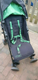 Maclaren pushchair moss Green Black stroller