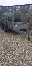 2011 Ifor Williams with cages 8×5