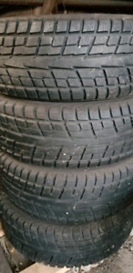 Snow tires and rims 235 60 17
