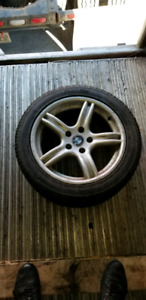 "Rims bmw replica 17"" 4 all rims included tires"