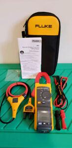 $475 OBO New Fluke 381 Remote display true RMS AC/DC clamp meter