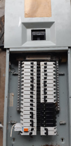 Commander electrical panel