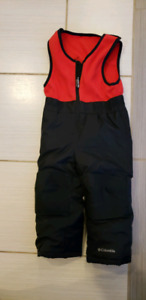 Columbia 2t two piece snow suit