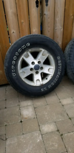 Tires from 2003 Ford's F150