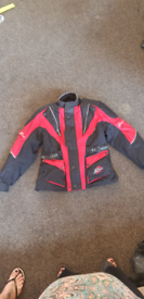 His and hers motorbike jackets