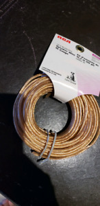 RCA 16 gauge speaker wire NEW