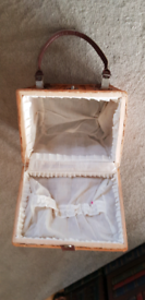 Wooden sewing/craft box