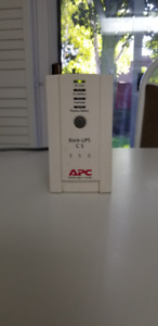 BACK UP POWER SUPPLY WITH SURGE PROTECTOR