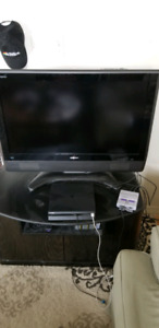 "37"" Sharp Aquos TV with stand"