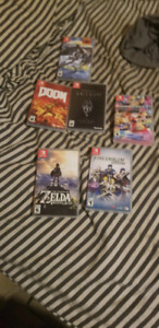 Sold Nintendo switch with some games