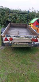 10ft x 4ft (loading bed) trailer