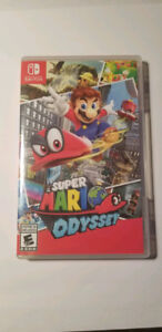Super Mario Odyssey Switch Comme Neuf