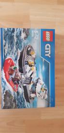 Lego city - 60129 police patrol boat, sealed box, rare