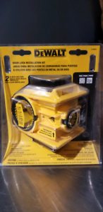 DeWalt door installation kit