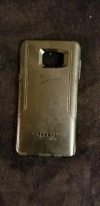 Various items, phone case, trailer connector, padlock,