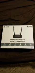 D-link router one month old