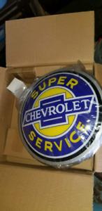 Super chevrolet service 15 inch led sign