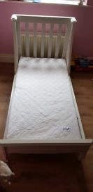 Mamas and Papas Adjustable Cot to Bed
