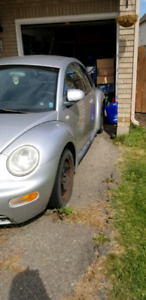 1999 new beetle for parts or scrap