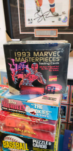 1993 Marvel Masterpieces Comic Book Trading Cards 36 Pack Box