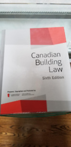 Canadian Building Law - 6th Edition
