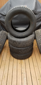 6 Winter Tires used one season, Excellent Condition.