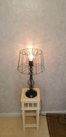 Atelier designer metal lamp