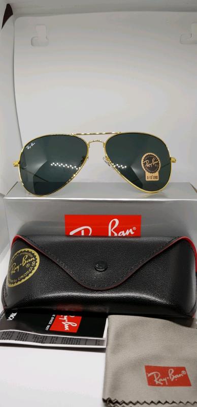 abef4afaf1cb Rayban aviator sunglasses gold
