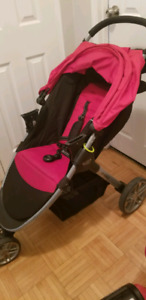 Red Britax B Agile Travel System