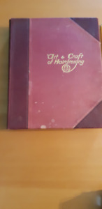 RARE 1931 BOOK  'The Art and Craft of Hairdressing'  Foan