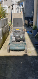 Hayter Petrol Lawnmower 125cc
