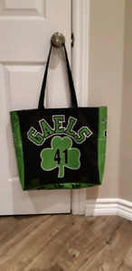 Tote bags made from sports jersey