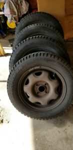 Winter tires and rims 185/65R14