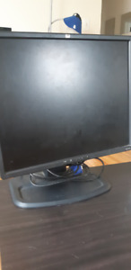 Computer monitors: VGA (standard) input, with cables included