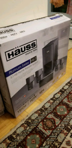 Home theater system 1500w Platinum band new