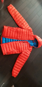 Down-filled Orange puffer jacket! BRAND NEW!