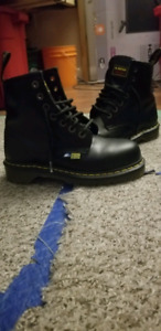 Dr Martens Industrial Steel Toe Boots (Basically NEW)