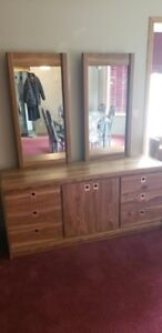 Large Bedroom Dresser with mirrors
