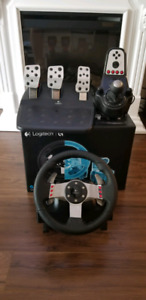 Logitech G27 Racing Wheel Set