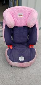 Girls car seat