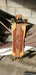 Raw Longboard Skateboard