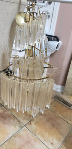 I am selling 2 beautiful chandelier both working condition